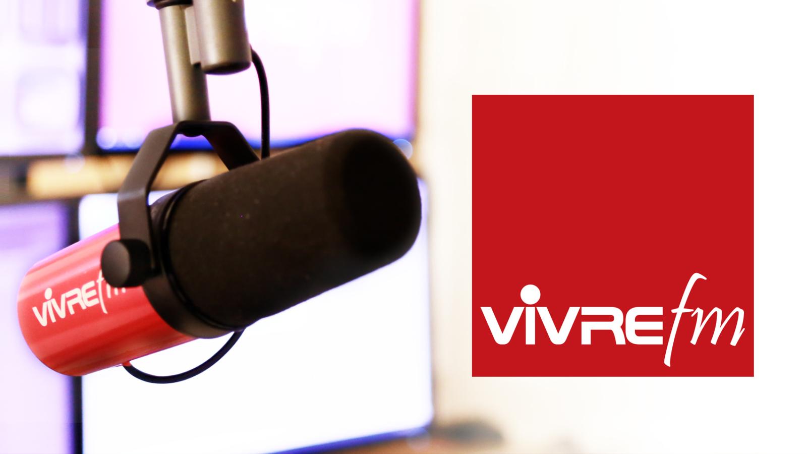 Photo du studio de Vivre FM