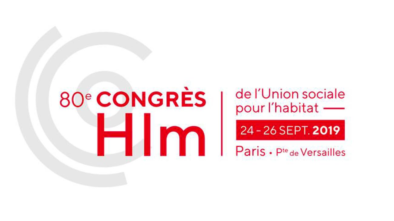 Logo du 8e congres Hlm- Logement social