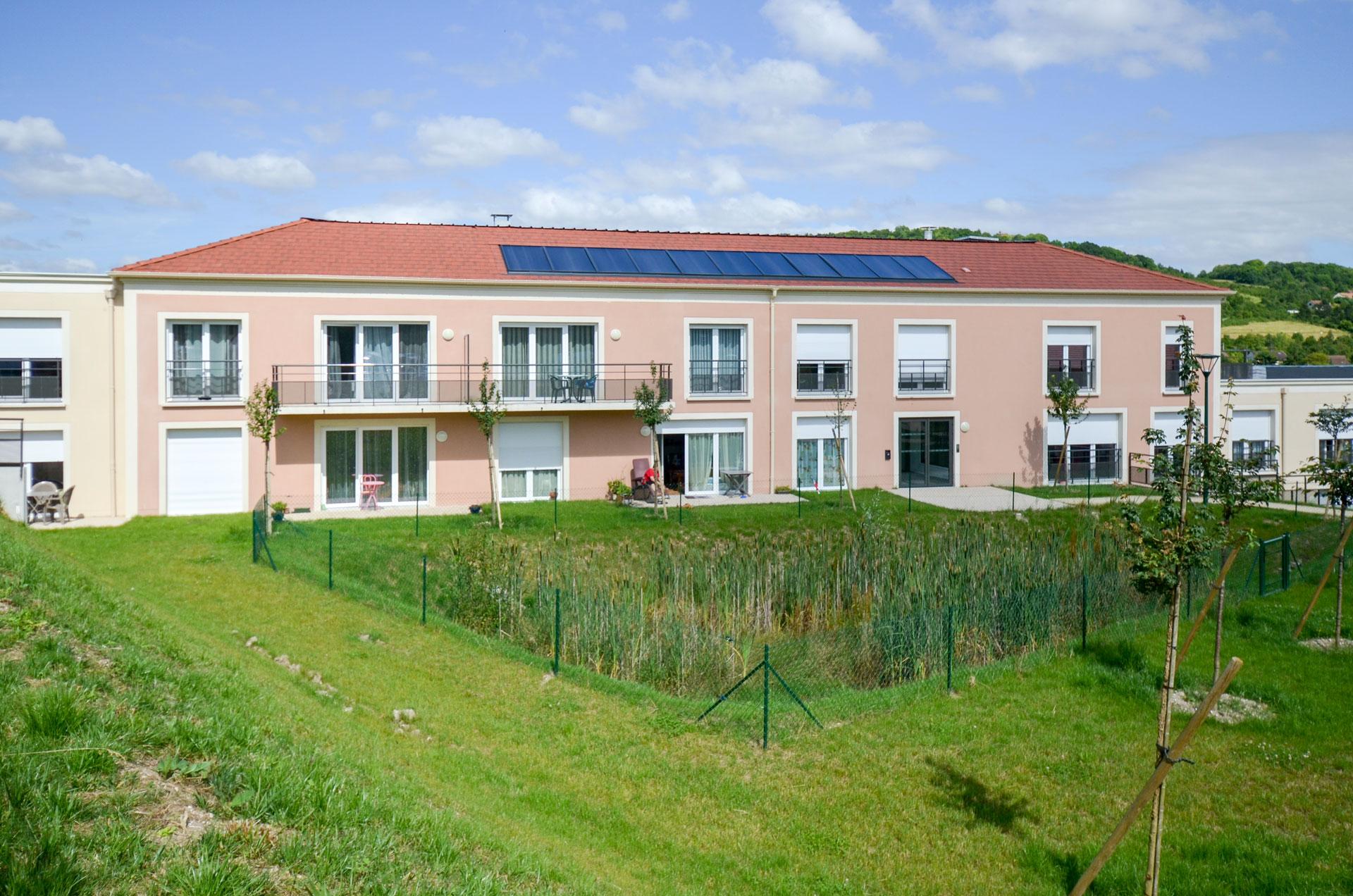 Vue de la résidence de Follainville-Dennemont