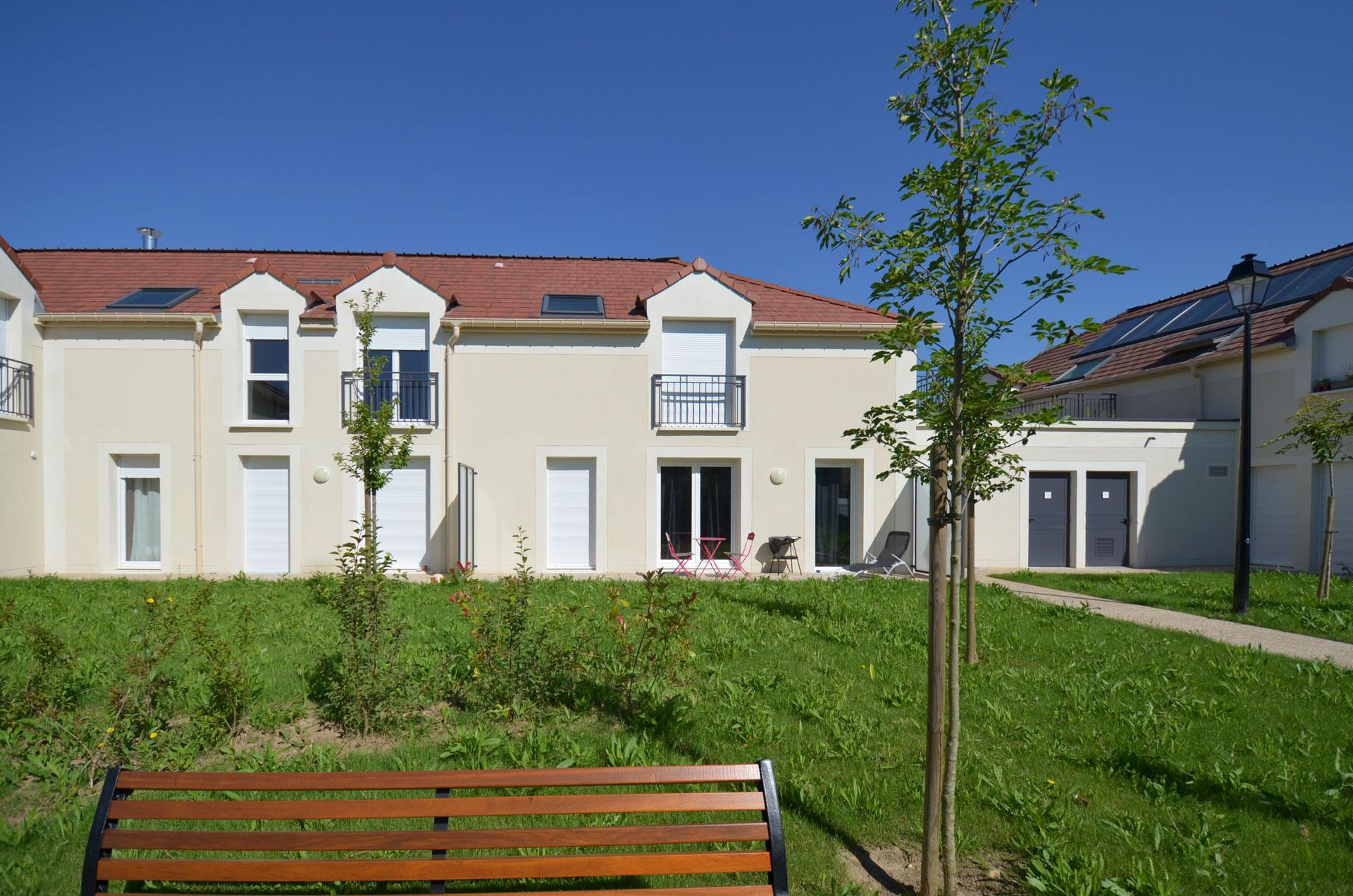 Vue de la résidence de Morainvilliers