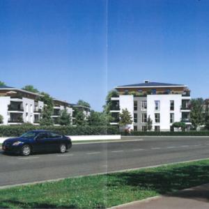 Façade architecte donnant sur rue