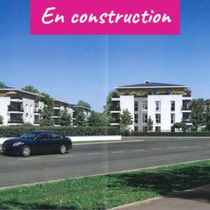Façade architecte donnant sur rue résidence de Saint Leu