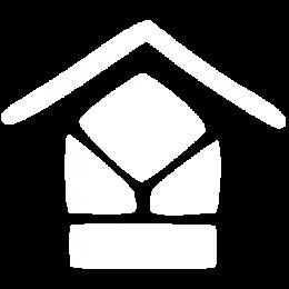 Logo Les Maisons de Marianne abrégé en blanc